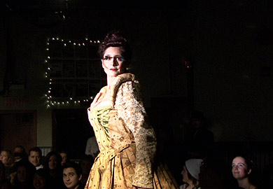 Bipolar Babe Fashion Show Model