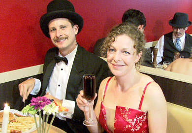 Victoria BC Video Production - Best Color Video - Black Tie Mystery Dinner